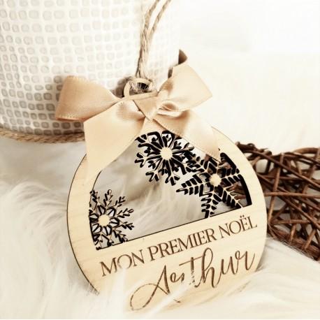 Boule de Noël 3 flocons
