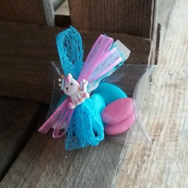 Dragées licorne baptême