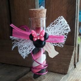 Éprouvette dragées Minnie rose