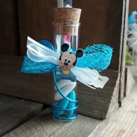 Dragées mickey éprouvette bleu