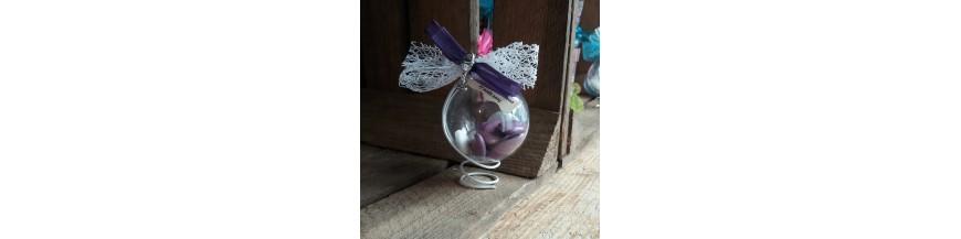 Dragées communion lilas