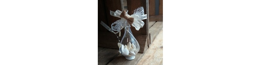 Dragées mariage ivoire