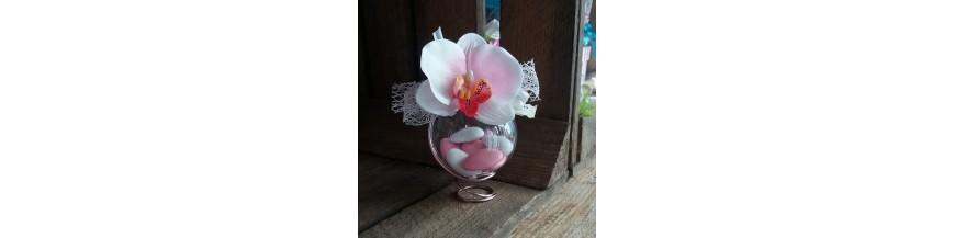 Dragées orchidée