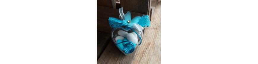 Dragées mariage bleu